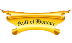 Roll of Donour